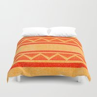 native Duvet Covers featuring Native by elledeegee