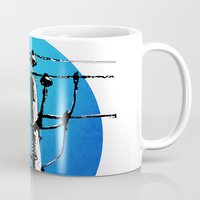 transformer Mugs featuring Transformer Sky by Rebecca Joy - Joy Art and Design