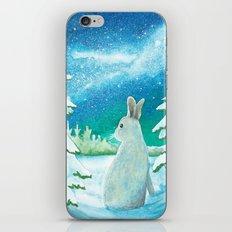 Winter Bunny iPhone & iPod Skin
