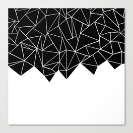 Ab Triangulation Canvas Print