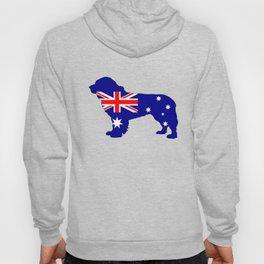 Australian Flag - Newfoundland Dog Hoody