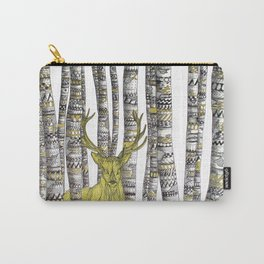 The Golden Stag Carry-All Pouch