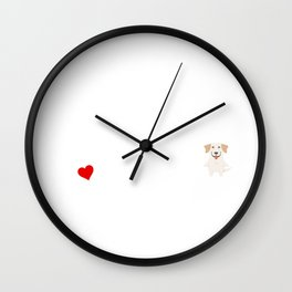 A Life Without A Labrador Retriever Is Like I Have No Idea Super Cute And Funny Dog Gift Idea Wall Clock