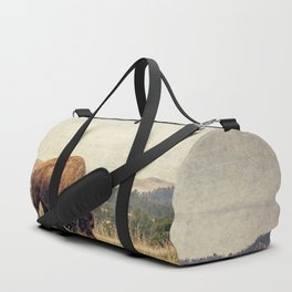 Bison Land Duffle Bag