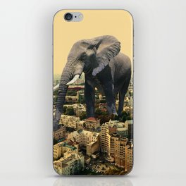 Urban Animal Elephant iPhone Skin