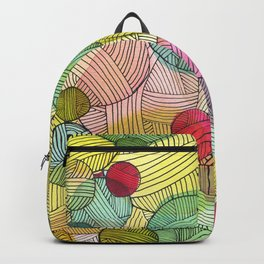 Yarn Stash Backpack