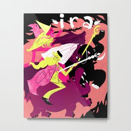 Wrath of Wizards Metal Print