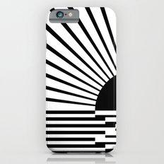 Black rays Slim Case iPhone 6s