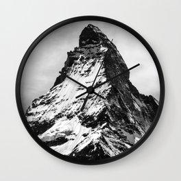 Matterhorn switzerland mountain Wall Clock