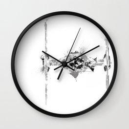 Star Wars Vehicle Tie Fighter Wall Clock