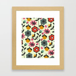 Floral sweetness Framed Art Print
