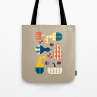 Autumn Gourds Gold Tote Bag