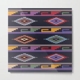 American Native Pattern No. 29 Metal Print
