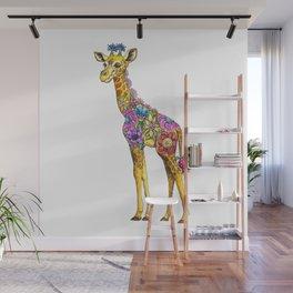 Geraldine the Genuinely Nice Giraffe Wall Mural