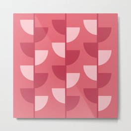 Strawberry Slices In The Summer Metal Print