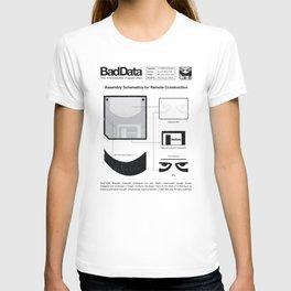 Bad Data: Assembly Instructions (Yellow) T-shirt