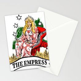 The empress Stationery Cards