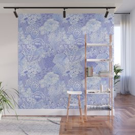 Icy Bloom Wall Mural