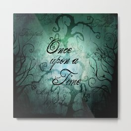 Once Upon A Time ~ Fairytale Forest  Metal Print