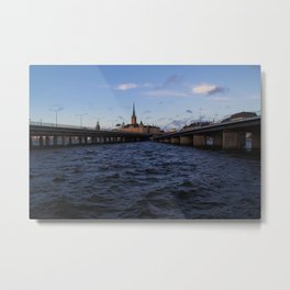 Stockholm by the Baltic Metal Print
