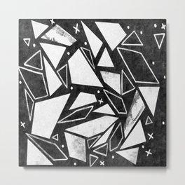 Geometrics III Metal Print