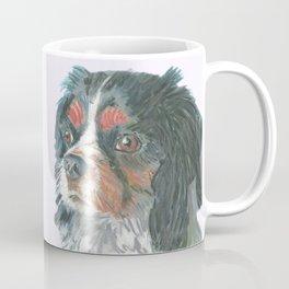 Cavalier King Charles Spaniel , Jiri Bures original art and design Coffee Mug