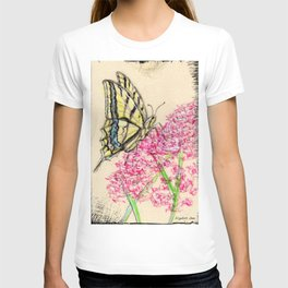 Collette's butterfly T-shirt