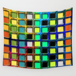 Colorful Tiles Wall Tapestry