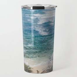 Surfer meets Sea - Diamond Head / Oahu / Hawaii Travel Mug