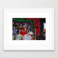pierce the veil Framed Art Prints featuring Pierce The Veil by Ashton Garner