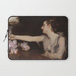 John Singer Sargent - Madame Gautreau drinking a toast Laptop Sleeve
