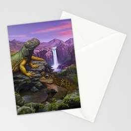 Cold blooded Stationery Cards