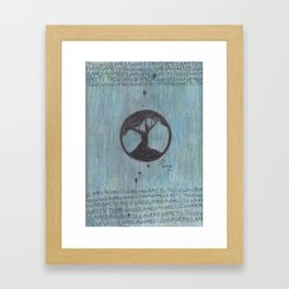 Amity. Framed Art Print