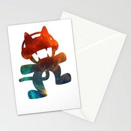 Monstercat galaxy - minimal Stationery Cards
