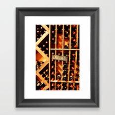 Cabernet Framed Art Print
