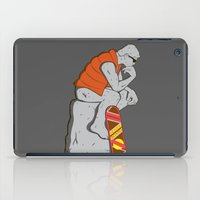 mcfly iPad Cases featuring Think Mcfly, Think! by Hoborobo