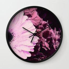 Gerberas 3 Wall Clock