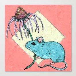 prairie deer mouse. Canvas Print