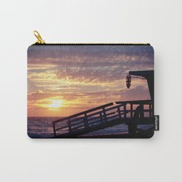 An Off-Duty Sunset Carry-All Pouch