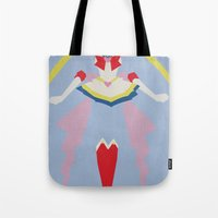 sailor moon Tote Bags featuring Sailor Moon by JHTY