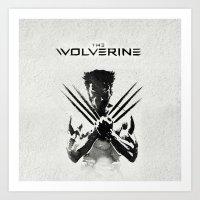 x men Art Prints featuring X-MEN by bimorecreative