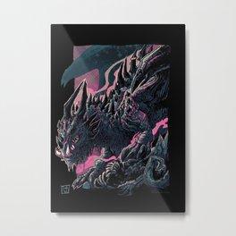 Hench Dragon Metal Print