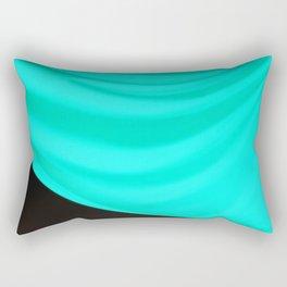 Aqua Drape Rectangular Pillow