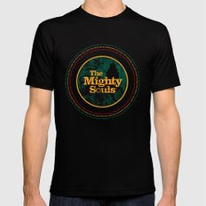 The Mighty Souls: Reggae Legends Mens Fitted Tee Black MEDIUM