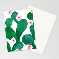Cactus Clean Green Stationery Cards