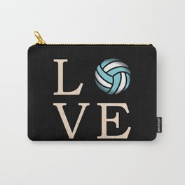 Volleyball love Carry-All Pouch