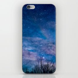 Night Sky Photography iPhone Skin
