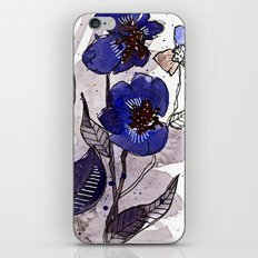 Floral 22 iPhone & iPod Skin