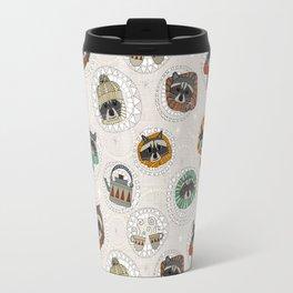 hygge raccoons Travel Mug