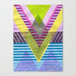 Isometric Harlequin #7 Canvas Print